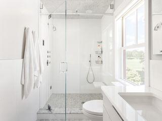 Clean Design 現代浴室設計點子、靈感&圖片