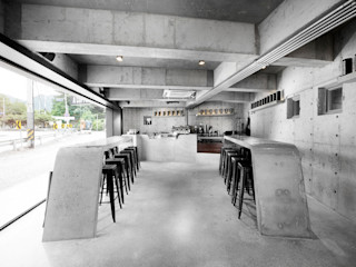 STARSIS 餐廳桌子 水泥 Grey
