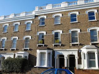 Dunollie Place, Kentish Town, London - NW5 Brosh Architects Moderne Häuser Ziegel Weiß