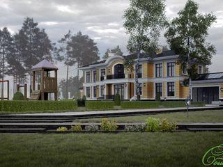 Компания архитекторов Латышевых 'Мечты сбываются' Casas clássicas