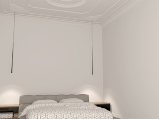 House Frame Wallpaper & Fabrics Gastronomía de estilo clásico