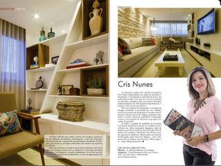 Cris Nunes Arquiteta Klassische Wohnzimmer