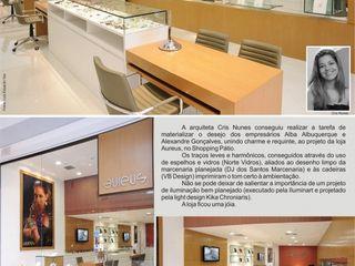 Cris Nunes Arquiteta Klassische Arbeitszimmer