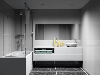 Amplitude - Mobiliário lda Baños de estilo moderno