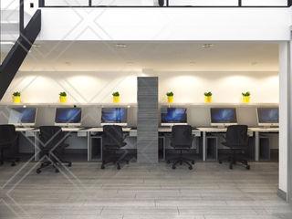 Oficinas CDR CONSTRUCTORA Estudios y despachos minimalistas