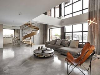 源原設計 YYDG INTERIOR DESIGN Livings de estilo moderno
