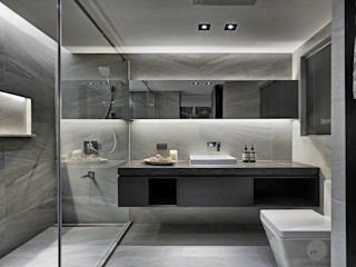 源原設計 YYDG INTERIOR DESIGN Baños de estilo moderno
