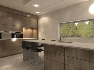 Studio DEEVIS Modern kitchen