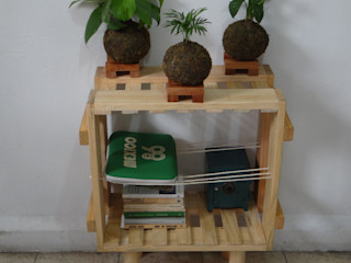 Departamento Seis HouseholdAccessories & decoration Solid Wood Wood effect