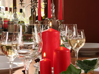 Winter & Christmas Candles The London Candle Company HouseholdAccessories & decoration Red
