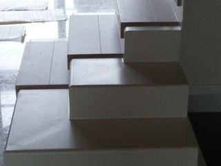 Forme snc. Moderne Häuser Eisen/Stahl Weiß