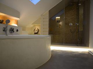 Feng Shui Ulrich holz -Baddesign Moderne Badezimmer Beige