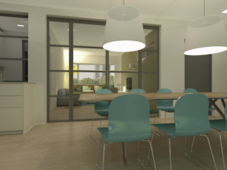 Studio DEEVIS Modern dining room