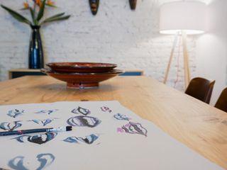 Bloomint design 餐廳 木頭 Wood effect
