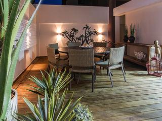 Cris Nunes Arquiteta Klassischer Balkon, Veranda & Terrasse