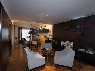 Studio Leonardo Muller Ruang Keluarga Modern Kayu