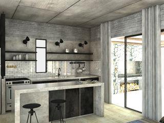 FAARQ - Facundo Arana Arquitecto & asoc. Moderne Küchen