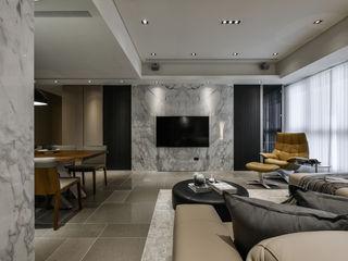 Tranquil 靜謐 CJ INTERIOR 長景國際設計 客廳