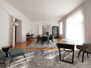 destilat Design Studio GmbH Modern dining room