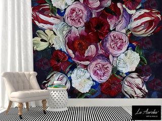 Secret Garden Wallpaper Collection by La Aurelia Art & Walls La Aurelia Wände & BodenTapeten Mehrfarbig