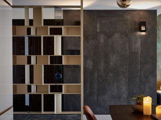 DYD INTERIOR大漾帝國際室內裝修有限公司 Pasillos, vestíbulos y escaleras de estilo moderno