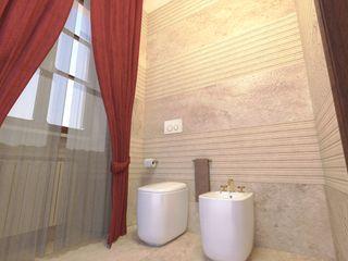 Planet G Modern bathroom Marble Beige
