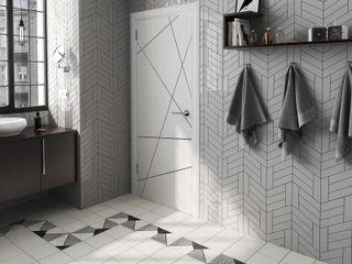 Equipe Ceramicas Ruang Ganti Modern Keramik Grey
