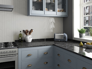 Equipe Ceramicas Dapur Modern Keramik Grey