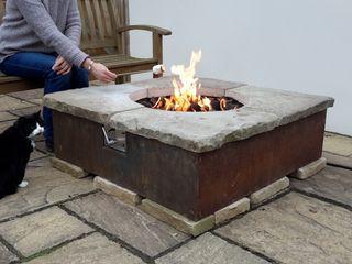 Table firepit Lithic Fire Сад Піщаник Сірий
