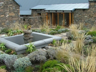 Tenahead lodge Urban concept architects Country style house Stone Brown