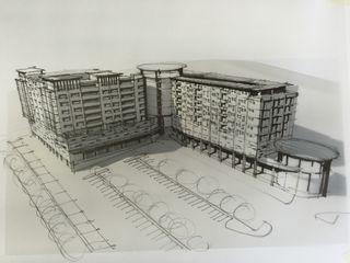 Urban concept architects Espacios comerciales de estilo moderno Concreto Gris