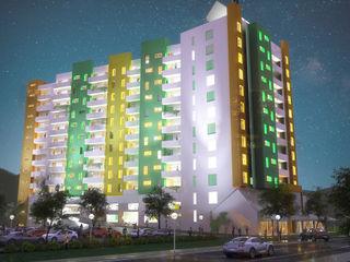 Urban concept architects Casas modernas Concreto reforzado Multicolor