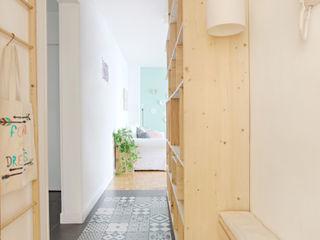 MON OEIL DANS LA DECO Scandinavian corridor, hallway & stairs