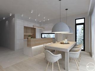 Tarna Design Studio Scandinavian style dining room