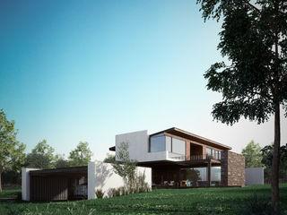 BAG arquitectura Modern Houses Stone Beige