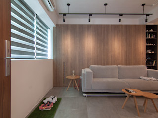 珞石設計 LoqStudio Modern living room