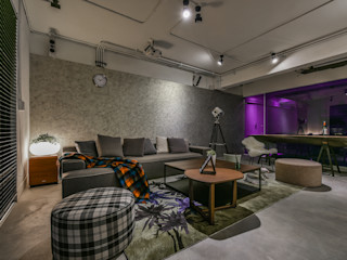 Luova 創研俬.集 Living room Reinforced concrete Grey