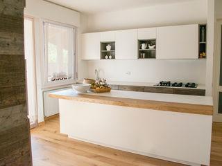 RI-NOVO Modern kitchen Solid Wood White