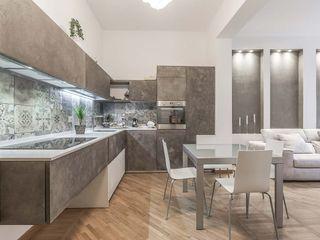 Facile Ristrutturare 現代廚房設計點子、靈感&圖片