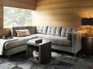 Dangle Byrd House Koko Architecture + Design Modern Living Room