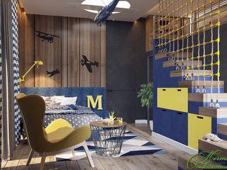Компания архитекторов Латышевых 'Мечты сбываются' Quartos de criança ecléticos