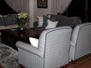 Inside Out Interiors Living roomSofas & armchairs Blue