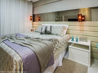 Cris Nunes Arquiteta Klassische Schlafzimmer