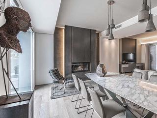 Contemporaneo BRANDO concept Sala da pranzo moderna