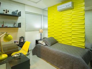 Cris Nunes Arquiteta SchlafzimmerAccessoires und Dekoration