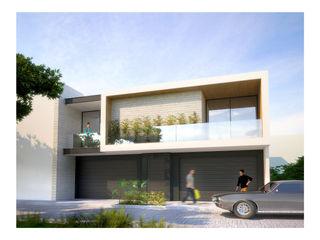 DAR Arquitectos Minimalist houses