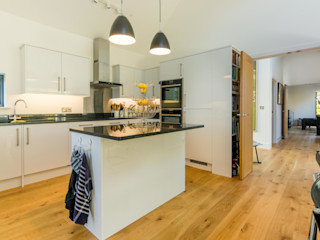 Glebe Wood House, North Devon Trewin Design Architects Cuisine moderne