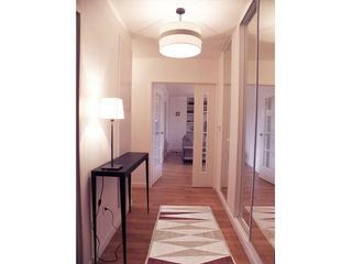 homify Scandinavian style corridor, hallway& stairs