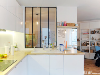 Belle Ville Atelier d'Architecture Kitchen