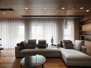 The Flow 形構設計 Morpho-Design 现代客厅設計點子、靈感 & 圖片